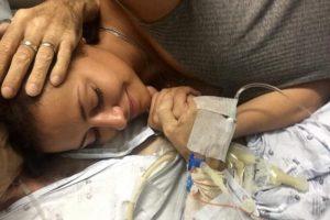 Sofia Ribeiro chora morte do pai, vítima de cancro nos pulmões
