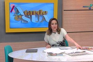 """""""Devo um pedido de desculpas a todos e que ontem ficaram assustados"""", desculpou-se a apresentadora de A Tarde É Sua"""