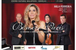 Mila Ferreira a cantar em francês (vídeo)
