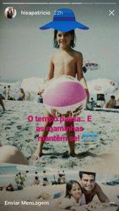Helena Isabel partilha foto em topless