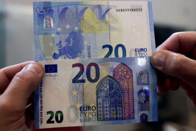 Resultado de imagem para Mais de 7.000 notas de euro retiradas de circulação pelo Banco de Portugal no 1º. semestre