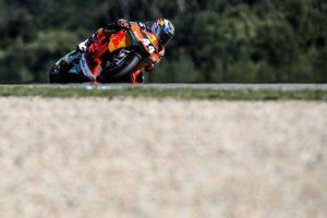 Miguel Oliveira com o terceiro tempo nos treinos livres de Moto2 na Áustria