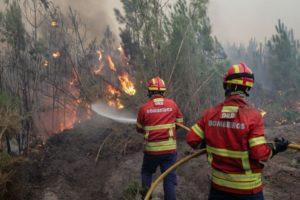 Risco de incêndio mantêm-se. Dispositivo de combate aos fogos prolongado até 15 de novembro