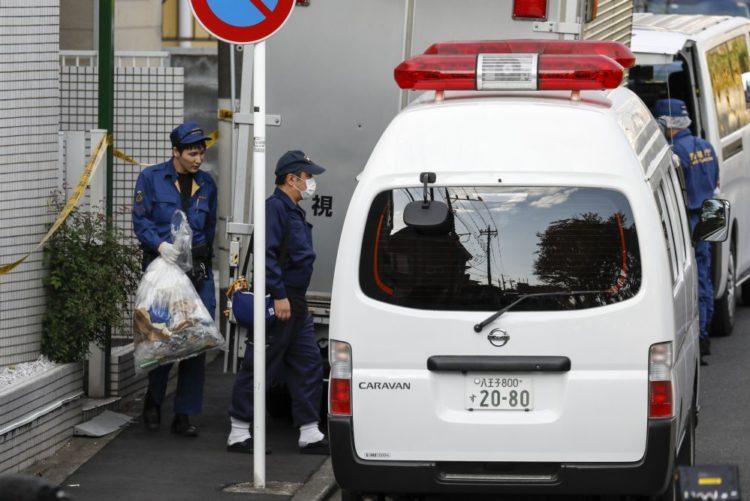 Resultado de imagem para Polícia japonesa encontra nove corpos desmembrados num apartamento em Tóquio