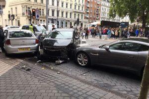 Atropelamento em Londres: Condutor foi libertado