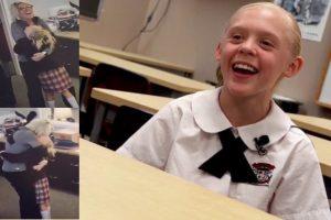 Reação de menina ao saber que vai ser adotada emociona o mundo (vídeo)