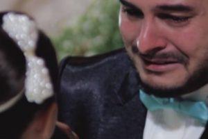 Virou as costas à noiva no casamento para declarar amor por outra pessoa