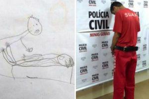 Pais descobrem que filha de 5 anos é abusada sexualmente através de desenhos