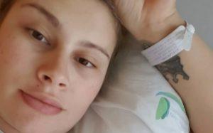 Bernardina Brito engana-se no nome da filha recém-nascida