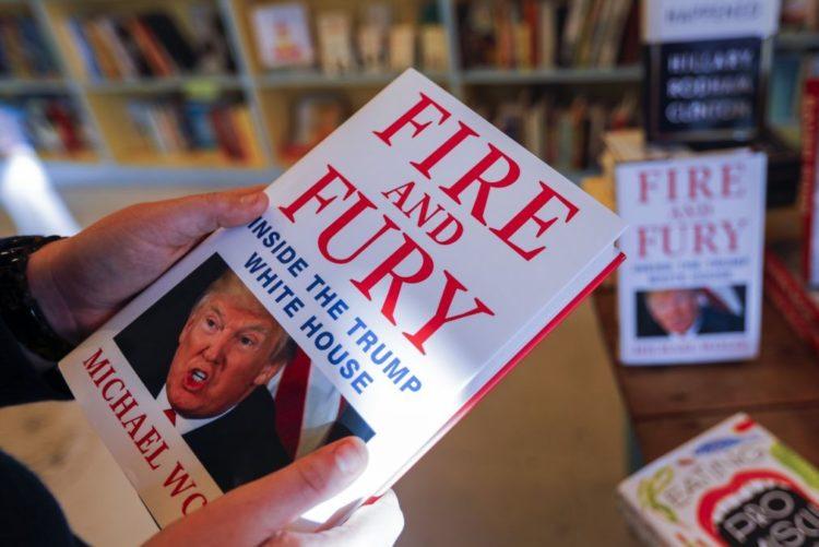 Livro sobre Trump «Fogo e Fúria» chega às livrarias portuguesas em fevereiro 617e92b07d7