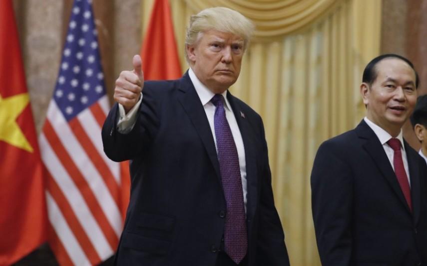 Donald Trump está há um ano no poder. Há um ano a criar polémicas 2bcce8a1897