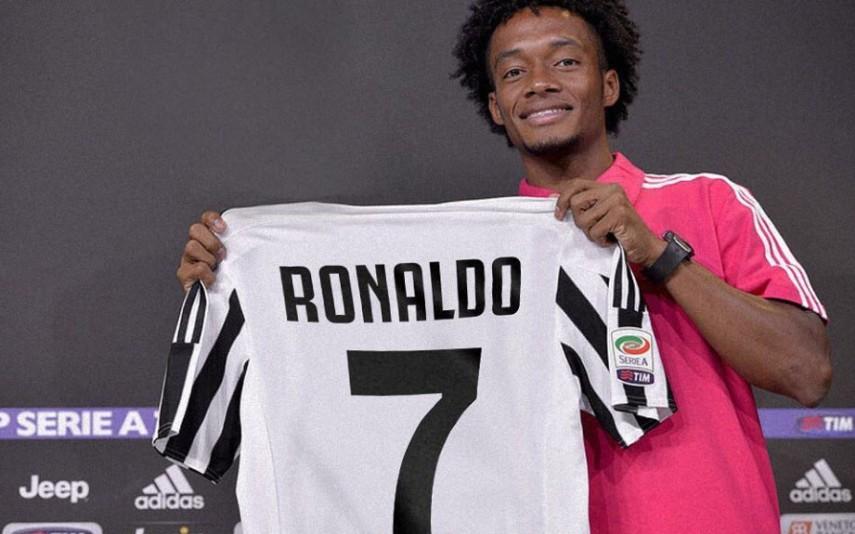 8975ec347 Cristiano Ronaldo vai vestir a camisola 7 na Juventus