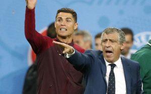 futebol na Sport TV, Cristiano Ronaldo, Fernando Santos