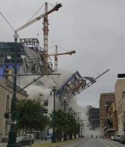 Nova Orleães | Parte de hotel colapsa e faz duas vítimas mortais [vídeo]
