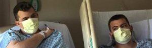 Gémeo emagrece 30 quilos para salvar a vida do irmão