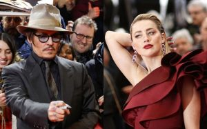 Johnny Depp perde parte de um dedo durante uma violenta discussão com a ex-mulher, Amber Heard. «Não encontro o dedo, não consigo encontrá-lo», ouve-se o ator dizer numa gravação.