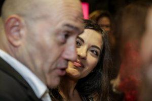 Sara Barradas, José Raposo, primeiro beijo