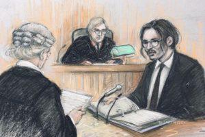 Johnny Depp em tribunal
