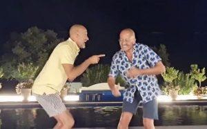 Manuel Luís Goucha e Rui Oliveira fazem dança 'freestyle' que está a levar a Internet ao delírio