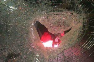 Autocarro do Benfica atingido por elementos dos No Name Boys