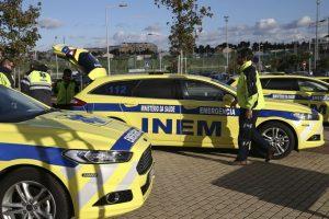 Covid-19: INEM tem 18 profissionais infetados e 39 de quarentena