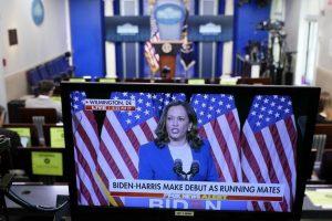 Kamala Harris, a primeira mulher negra e sul-asiática-americana numa das principais eleições nacionais dos EUA