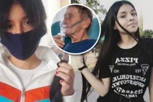 Uma jovem adolescente mexicana de 16 anos decidiu cortar os cabelos e vendê-los para recolher fundos e comprar um tanque de oxigénio para o avô, doente com covid-19.