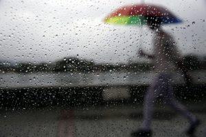 Continente sob aviso amarelo devido à previsão de chuva forte