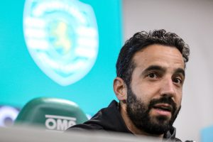 Sporting, Rúben Amorim, treinador do Sporting