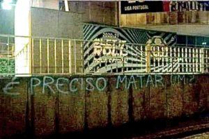 Ameaça de morte inscrita na sede da Liga após apelo de Pinto da Costa à serenidade