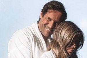 José Carlos Pereira e namorada posam nus na reta final da gravidez