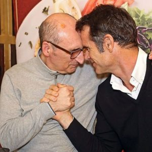 O abraço de Pedro Lima e António Cordeiro que está a emocionar o País