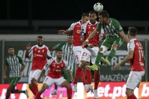 Sporting de Braga empata com Rio Ave e falha 'colagem' ao Benfica