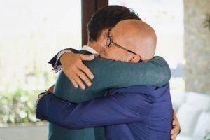 Abraço de Tony Carreira a Goucha esconde segredo. Saiba qual