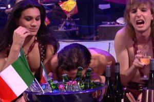 Eurovisão. Imagem polémica sugere consumo de droga em direto [vídeo]