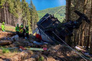 Nove mortos em queda de teleférico em Itália [vídeo]