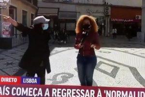 Conceição Queiroz atacada em direto: «És uma rata, vai para as obras»