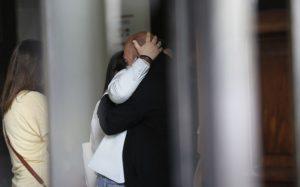 José Raposo foi o rosto da dor no velório de Maria João Abreu [vídeos]