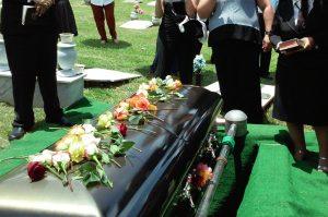 caixão, funeral