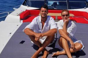 Cristina Ferreira e Rúben Rua juntos de férias em iate de luxo [vídeo]