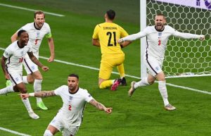 Euro2020: Luke Shaw marcou golo mais rapido em finais de Europeus