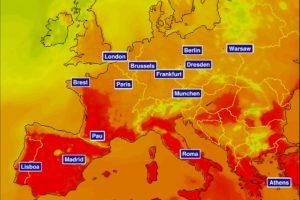 Onda de calor atinge Portugal e temperaturas podem subir 20 graus