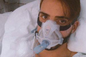 Sandro Lima hospitalizado em luta contra bactéria