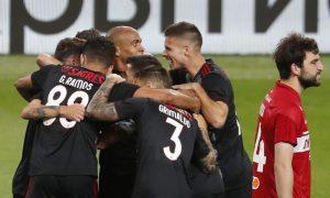 Benfica vence na Rússia e dá passo em frente na Liga dos Campeões