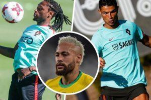 Ruben Semedo, Neymar Jr, Cristiano Ronaldo (destaque)