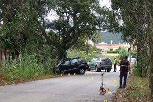 Acidente na freguesia de Tornada causa morte a ciclista de 59 anos
