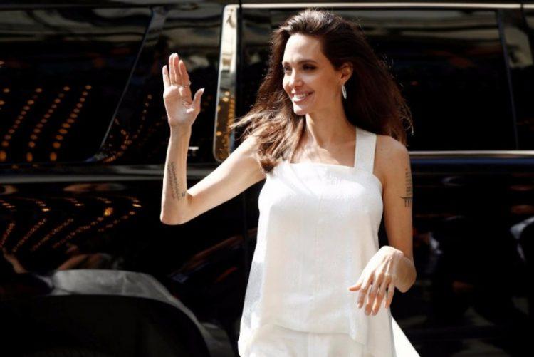 Angelina Jolie estará a pesar apenas 34 quilos