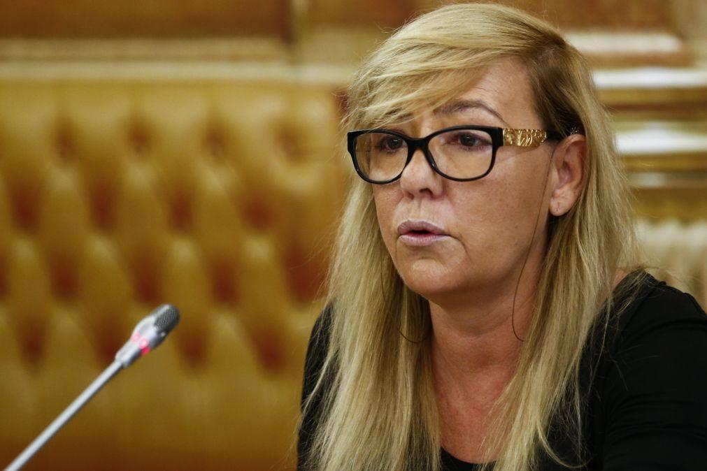 Vistos 'Gold': Ex-ministra da Justiça nega ter recebido pedido para reconduzir António Figueiredo