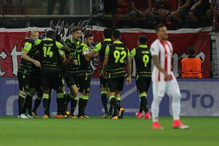 Sporting arranca na Liga dos Campeões com vitória na Grécia