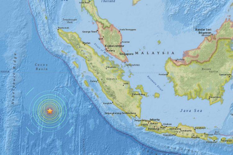 Sismo de 6,4 na escala de Richter abala Indonésia